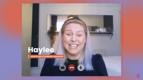 Haylee, Senior Relationship Manager